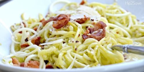 Get Inspiralized with this Quick & YUMMY Low Carb Meal Idea