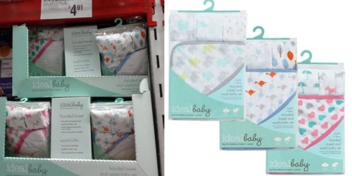 Sam's Club: Possible Aden+ Anais Hooded Towel and Washcloth Set Only $4.91 (Reg. $13.49)