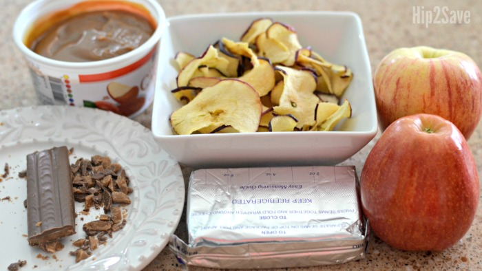 ingredients-for-caramel-apple-spread