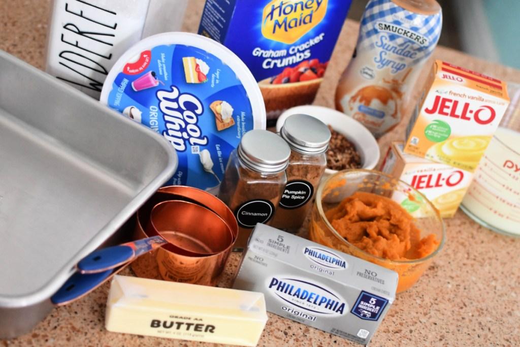 ingredients for pumpkin delight