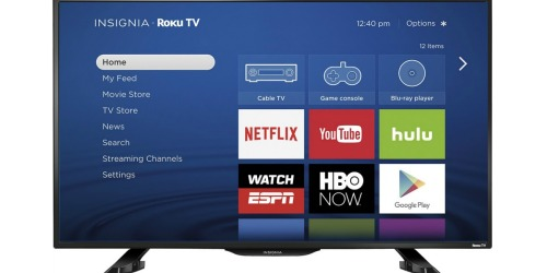 Best Buy: Insignia 39″ Smart Roku TV Only $199.99 Shipped