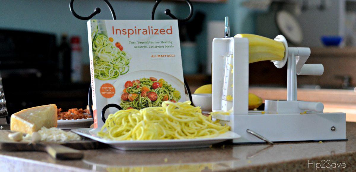 Inspiralized Spriral Noodle Maker and Cookbook Hip2Save.com