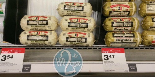 Target: Jimmy Dean Sausage Roll Only 63¢ & Ball Park Hot Dogs Only 93¢ (After Gift Card)