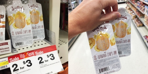 Target: Justin's Peanut Butter & Banana Chip Snack Packs Only 75¢ (+ Nice Deal on Annie's Sandwiches)