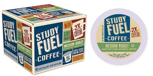 Bed Bath & Beyond: Study Fuel Coffee K-Cups 42 Count Only $9.99 Shipped (Regularly $19.99)