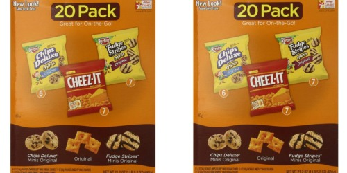 Amazon Prime: Keebler Cookie and Cheez-It Variety Pack 20-count Only $5.56 Shipped (28¢ Per Bag)