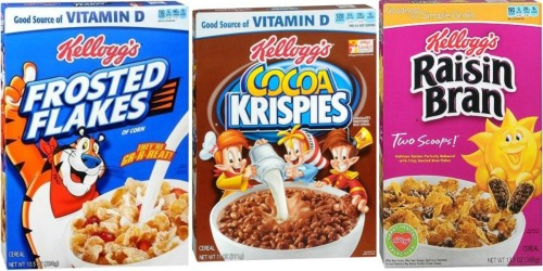 Walgreens: Kellogg's Cereal Only $1.39 Per Box Starting 9/18 (Print Coupon NOW)