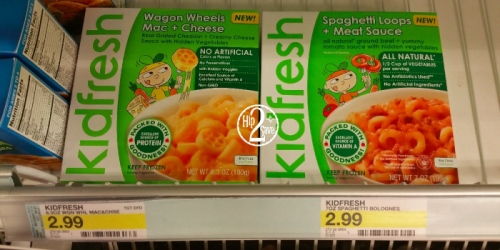 Target: Free Kidfresh Frozen Meal (After Cash Back from Ibotta and Checkout51)