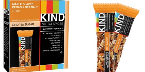 Amazon: KIND Gluten-Free 12-Count Bars Only $8.98 Shipped (Just 75¢ Per Bar)