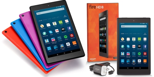 Amazon: Pre-Order New Fire Tablet 8″ HD Display with 16 GB Storage – Only $89.99 Shipped