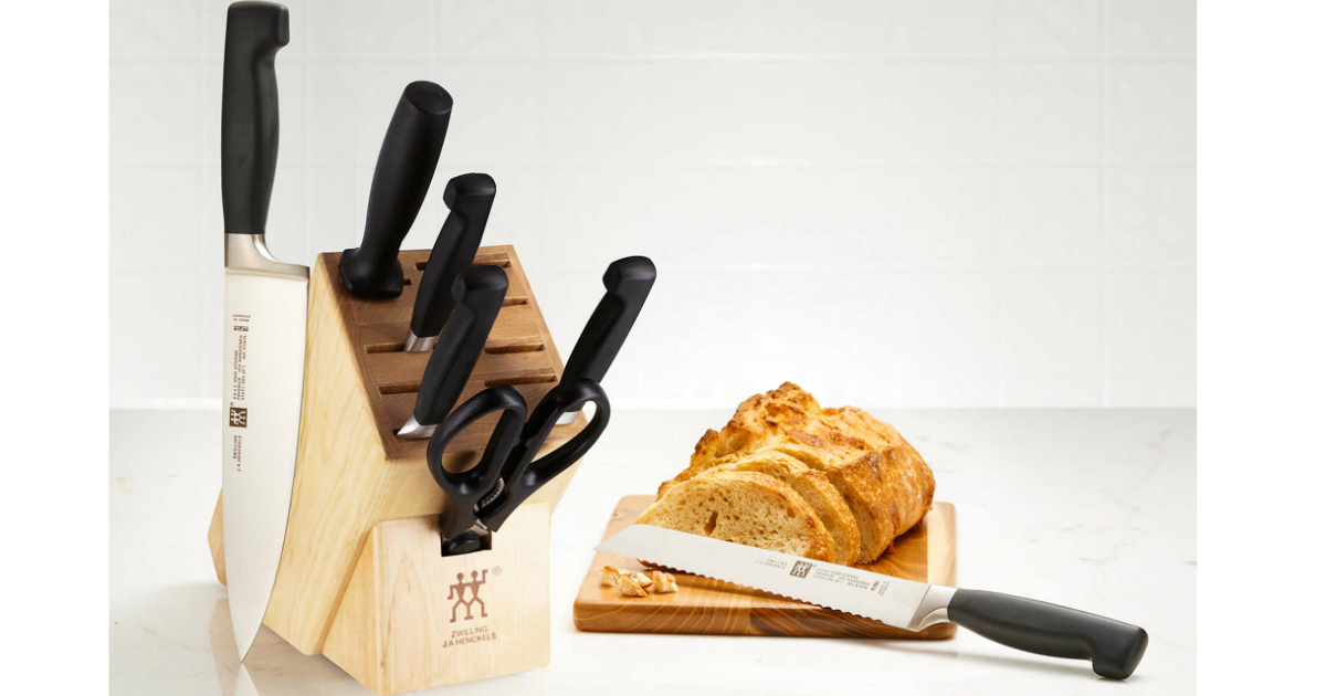 Bed Bath Beyond Zwilling J A Henckels 8 Piece Knife Block Only 119 99 Shipped Reg 199 Hip2save