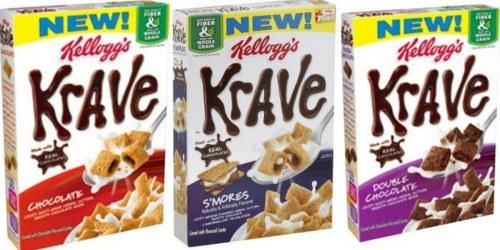 Target: Kellogg's Krave Cereal as Low as $1.37 Each (After Cash Back)
