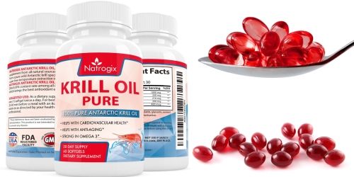 Amazon: Pure Krill Oil Supplement 60 Count Bottle Only $12.99 (Regularly $19.99)