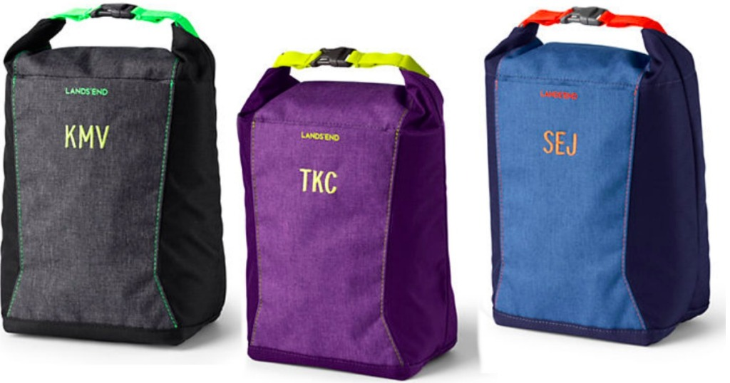 Lands' End Lunch Bags