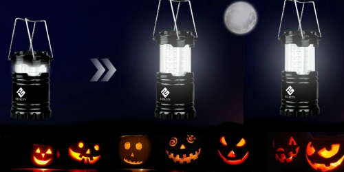 Amazon: Etekcity 3-Pack Portable Outdoor LED Lanterns Just $14.99 (Perfect for Trick-or-Treating)