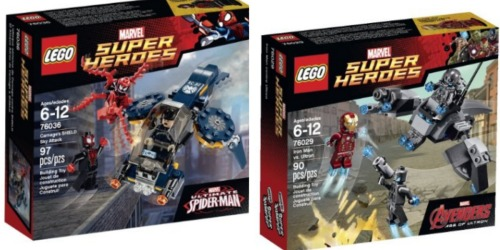 Amazon Or Target: Nice Deals On LEGO Marvel Super Heroes