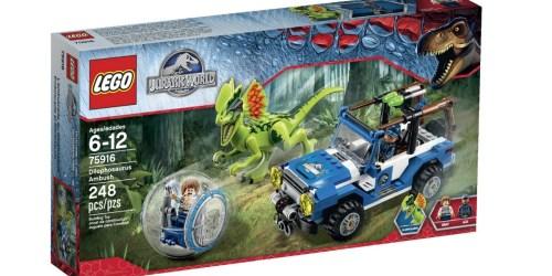 Amazon: LEGO Jurassic World Dilophosaurus Ambush Building Kit Only $21.74