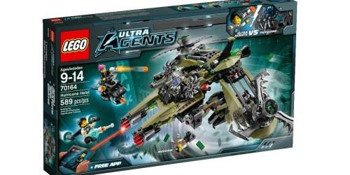 LEGO Ultra Agents Hurricane Heist Set Only $29.99 Shipped (Regularly $59.98)