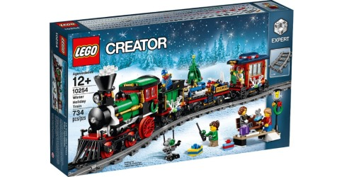 Mark Your Calendars! LEGO Winter Holiday Train Set Releasing October 1st