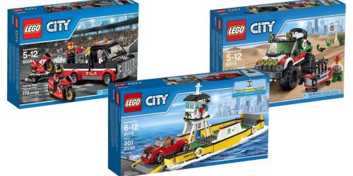 Nice Deals On LEGO City Sets = 4 x 4 Off Roader Set Only $12.39 (Regularly $19.99)