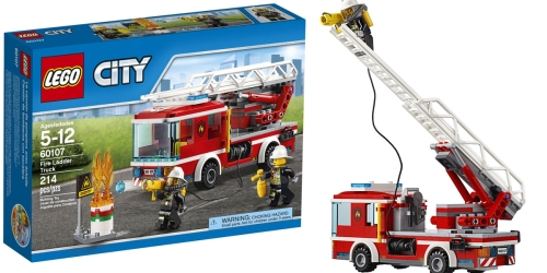 LEGO City Fire Ladder Truck Only $13.43