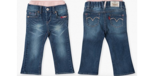 Levi's: Extra 30% Off Sitewide Sale + Free Shipping = Infant Girls Skinny Jeans $8.38 Shipped