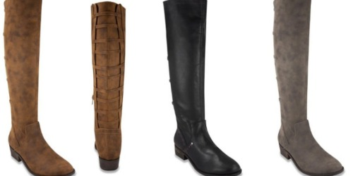 Amazon: London Fog Women's Riding Boots as Low as $44.99 (Regularly $129.99)