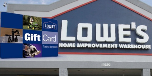 Staples.com: $100 Lowe's Gift Card ONLY $91.99 Shipped + Nice Deals On Household Products