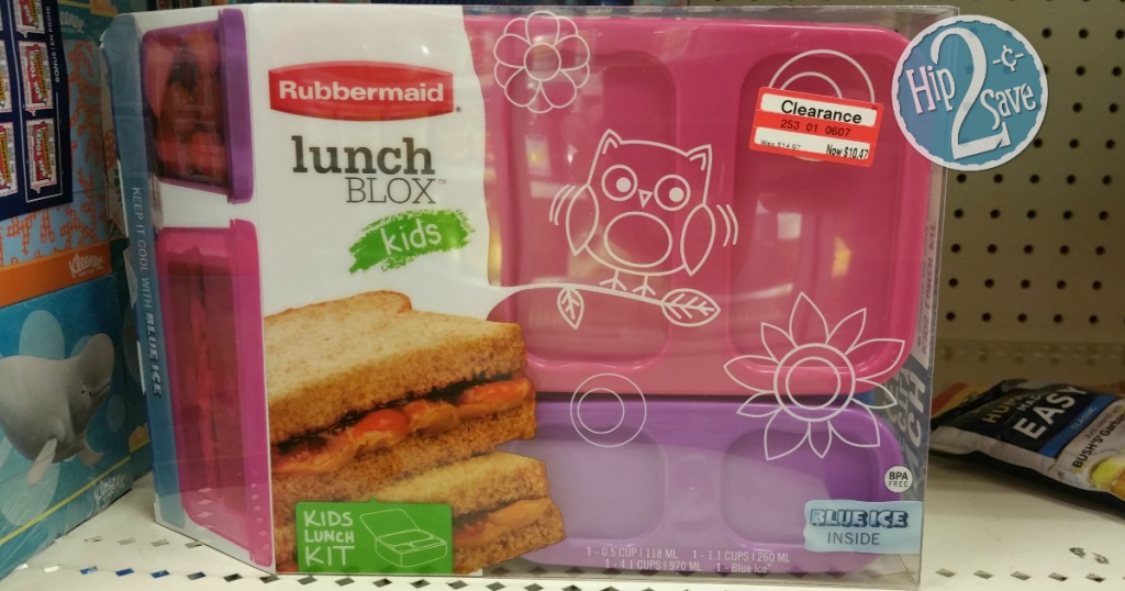 Target: Rubbermaid Lunch Blox Possibly $6 85 - Regularly