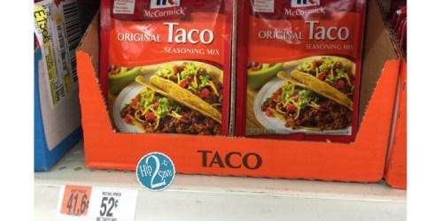 Stock Up Your Pantry – McCormick Seasoning Mixes Only 26¢ At Walmart!