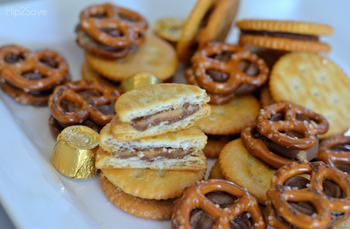 melted-rolos-and-ritz-crackers