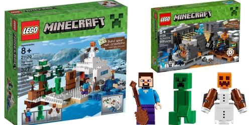 LEGO Minecraft Sets Up to 45% Off