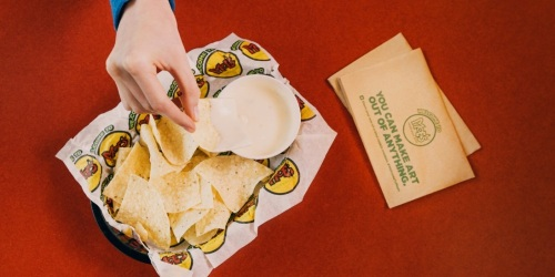 Moe's Southwest Grill: FREE Queso & Chips (Tomorrow Only)