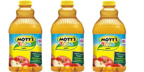 Target: Mott's for Tots Juice 64oz Bottles Only $1.46 Each (No Coupons Needed)