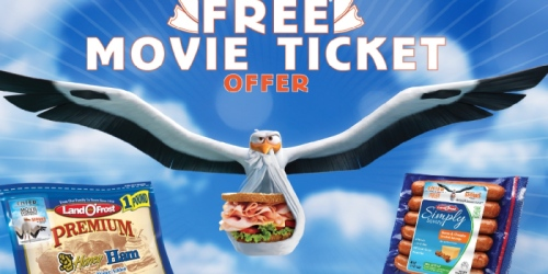 FREE Movie Ticket ($8 Value) w/ Land O'Frost Product Purchase