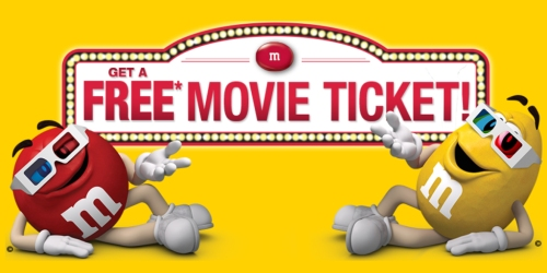 FREE Fandango Movie Ticket ($12 Value) w/ M&M's Purchase
