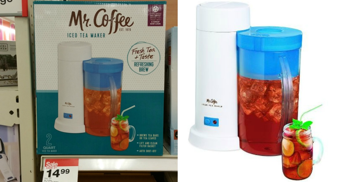 Target: Mr. Coffee Iced Tea Maker ONLY $10.49 (Reg. $19.99 ...