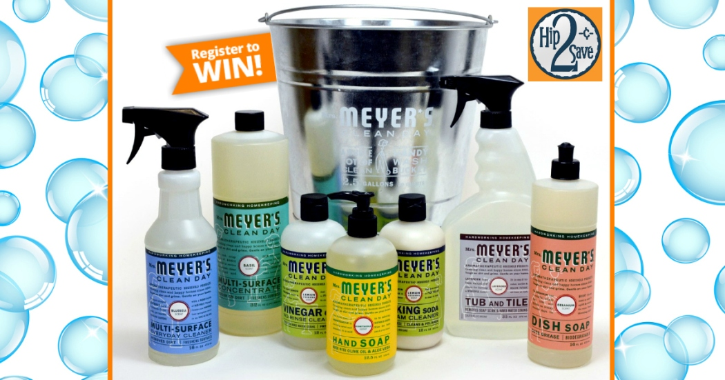 Mrs. Meyer's Giveaway