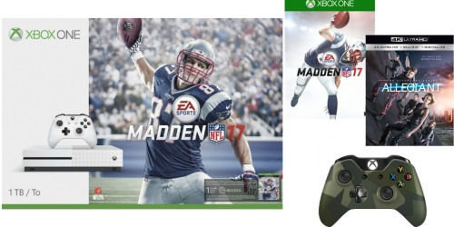 Walmart.com: XBox One Madden NFL 17 Bundle $357.10 Shipped – 1 Game, Controller, Movie & More