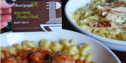 My Coke Rewards: 50 Win Olive Garden Pasta Pass Valued at $100 (No Points Required To Enter)