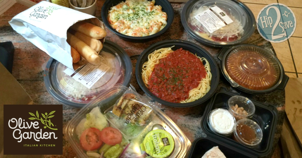Score 4 Olive Garden Entrees 2 Soups Salads 4 Breadsticks Pumpkin Cheesecake For Under 30 Hip2save