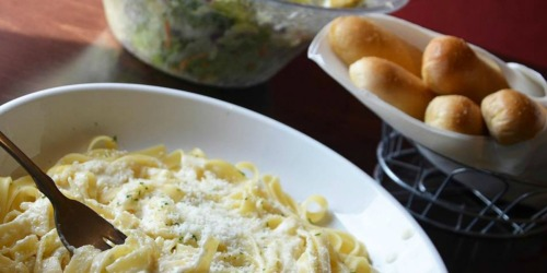 Olive Garden: 7-Week Never Ending Pasta Pass Promotion (Starts September 15th at 2PM EST)