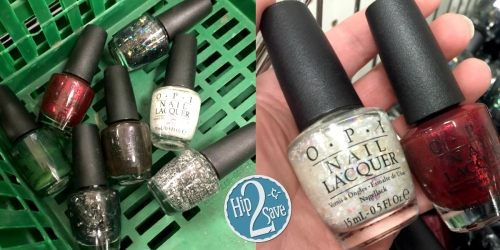 Dollar Tree: OPI Nail Lacquer Possibly ONLY $1
