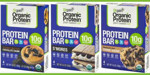 Target: Orgain Organic Protein 4-Count Bars Possibly Just 99¢ After Ibotta (Regularly $6.99)
