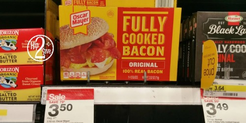 Target Shoppers! Great Buys on Oscar Mayer Bacon, Lunch Meat, Bread, Bagels & Lunchables