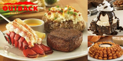 Outback Steakhouse: 15% Off Your Entire Check (Valid for Dine-In & Curbside Takeaway)