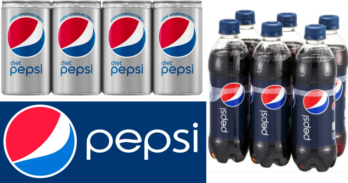 Print 10 In Rare Pepsi Soda Coupons 12 Packs As Low As 69 Each At Target After Cash Back Hip2save