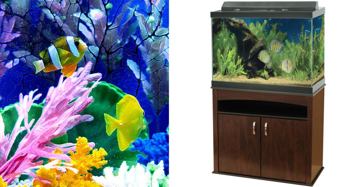 Petsmart Com Aqueon 65 Gallon Aquarium Ensemble Only 149 99 Regularly 349 99 Hip2save