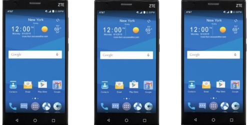 Best Buy: AT&T GoPhone 16GB Memory Prepaid Cell Phone Only $49.99 Shipped (Reg. $99.99)