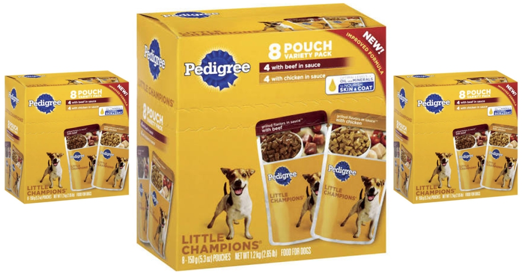 Kroger Free Pedigree Wet Dog Food 8 Pack Pouches Must Load Ecoupon